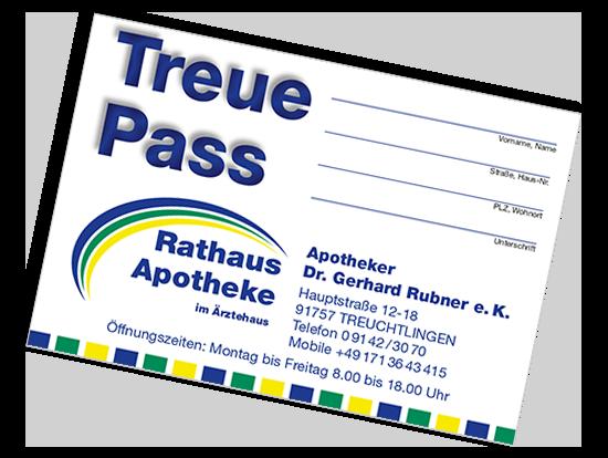 Treuepunkte Treuchtlingen, Rathaus Apotheke Treuchtlingen